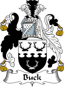 English Coat of Arms for Buck
