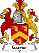 Irish Coat of Arms for Gardiner or Garner