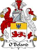 Irish Coat of Arms for O'Boland