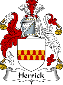 English Coat of Arms for Herrick