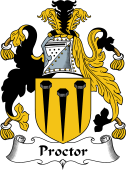 English Coat of Arms for Proctor
