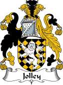 Irish Coat of Arms for Jolley or Jolly