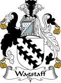 English Coat of Arms for Wagstaff