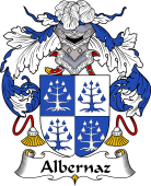 Portuguese Coat of Arms for Albernaz