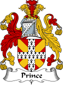 English Coat of Arms for Prince