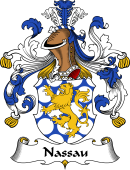 German Coat of Arms for Nassau