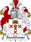 English Coat of Arms for Stackhouse