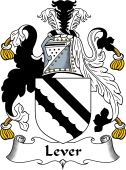 English Coat of Arms for Lever
