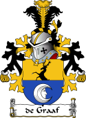 Dutch Coat of Arms for de Graaf