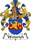 German Wappen Coat of Arms for Weinrich