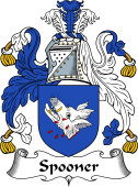 English Coat of Arms for Spooner