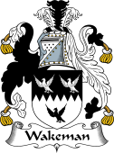 English Coat of Arms for Wakeman