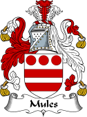 English Coat of Arms for Mules