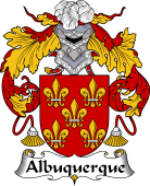 Portuguese Coat of Arms for Albuquerque