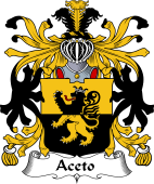 Italian Coat of Arms for Aceto