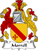 English Coat of Arms for Morrell