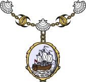 Double Crescent-Collar (Short) (France)