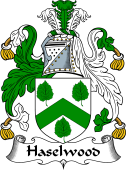 English Coat of Arms for Haselwood