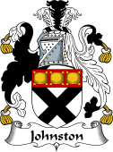 Irish Coat of Arms for Johnston