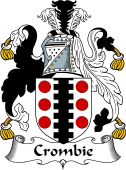Irish Coat of Arms for Crombie or Cromie