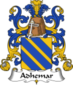 Coat of Arms from France for Adhemar