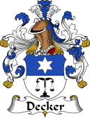 German Coat of Arms for Decker