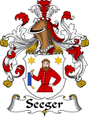 German Coat of Arms for Seeger