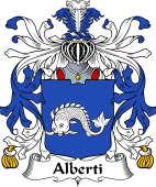 Italian Coat of Arms for Alberti