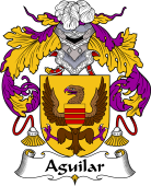 Portuguese Coat of Arms for Aguilar
