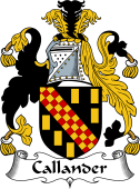 Irish Coat of Arms for Callander