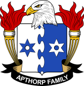 American Coat of Arms for Apthorp