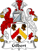 Irish Coat of Arms for Gilbert