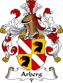 German Wappen Coat of Arms for Arberg