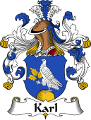 German Wappen Coat of Arms for Karl