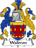 English Coat of Arms for Waldron I or Walrond