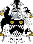 English Coat of Arms for Prescot