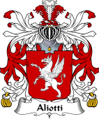 Italian Coat of Arms for Aliotti