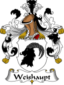 German Wappen Coat of Arms for Weishaupt