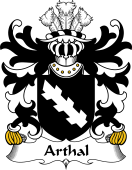 Welsh Coat of Arms for Arthal (or Arthgal)