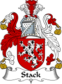 Irish Coat of Arms for Stack