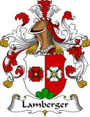 German Wappen Coat of Arms for Lamberger