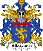 Italian Coat of Arms for Allesandri