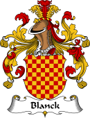 German Coat of Arms for Blanck