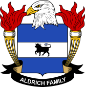 American Coat of Arms for Aldrich