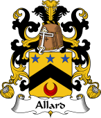 Coat of Arms from France for Allard
