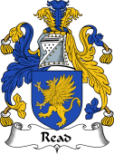 Irish Coat of Arms for Read