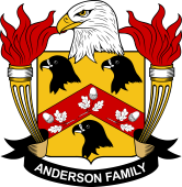 American Coat of Arms for Anderson