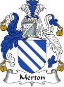 English Coat of Arms for Merton