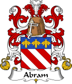 Coat of Arms from France for Abram