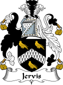 Irish Coat of Arms for Jervis or Jervois